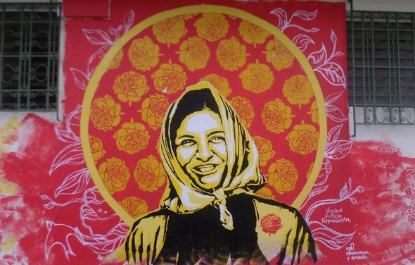 Verdad, Justicia y Reparación. Conmemoración Patricia García. Ex-presidenta de COMADRES. Madres y familiares de los desaparecidos durante el conflicto armado en El Salvador.